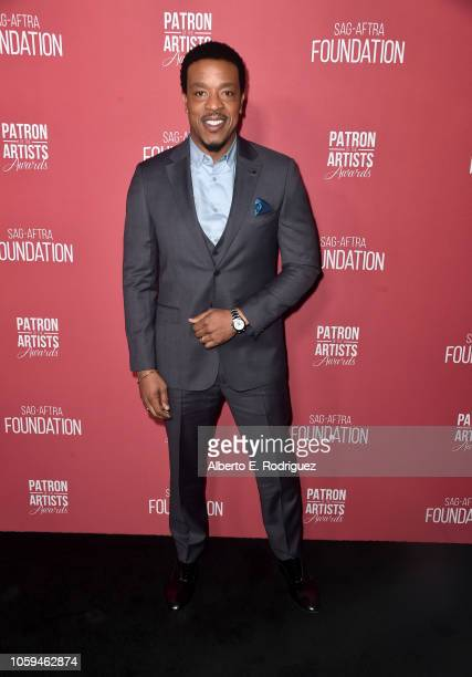 Russell Hornsby attends SAGAFTRA Foundation's 3rd Annual Patron of the Artists Awards at Wallis Annenberg Center for the Performing Arts on November...