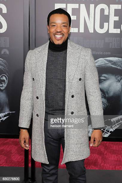 Russell Hornsby attends the New York Special Screening of the Paramount Pictures title 'FENCES' at Rose Theater Jazz at Lincoln Center on December 19...