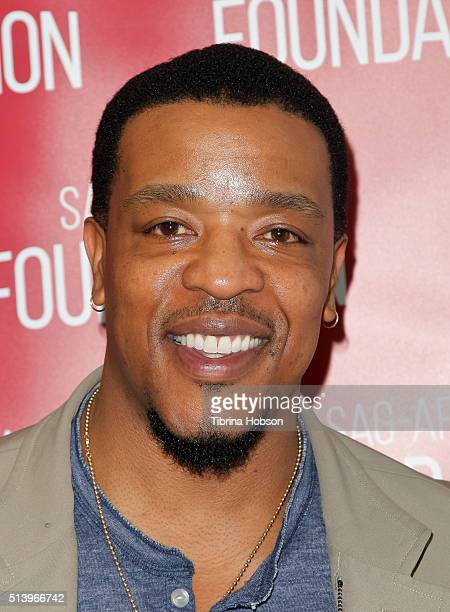 Russell Hornsby attends the SAGAFTRA Foundation Conversations with the 'Grimm' cast at SAGAFTRA Foundation on March 5 2016 in Los Angeles California