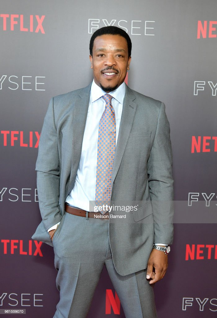 Russell Hornsby attends the 'Seven Seconds' panel at Netflix FYSEE on May 22, 2018 in Los Angeles, California.