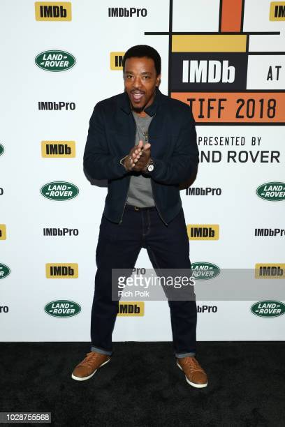Russell Hornsby of 'The Hate U Give' attends The IMDb Studio presented By Land Rover At The 2018 Toronto International Film Festival at Bisha Hotel...