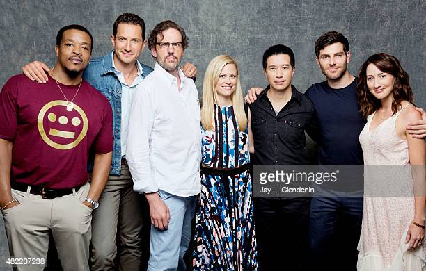 Russell Hornsby Sasha Roiz Silas Weir Mitchell Claire Coffee Reggie Lee David Giuntoli and Bree Turner of 'Grimm' pose for a portrait at ComicCon...