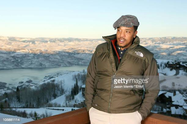 Russell Hornsby with North Face at The North Face House *Exclusive Coverage*