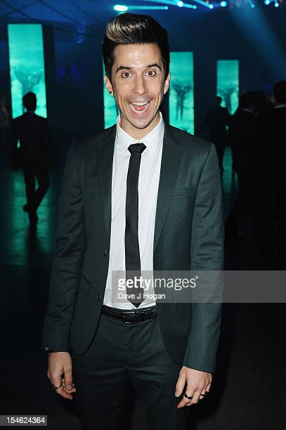 Russell Kane attends the Royal world premiere after party of 'Skyfall' at The Tate Modern on October 23 2012 in London England