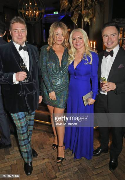 Russell Kilpatrick Jessica Kilpatrick Caroline Mellor and Steve Mellor attend the Rosewood Mini Wishes Gala Dinner in aid of Great Ormond Street...