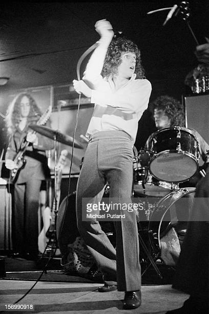 Russell Mael from Sparks performs at the Pheasantry, London, November 1972.