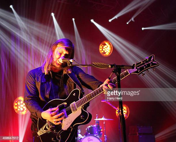 Russell Marsden of Band Of Skulls performs at Southampton Guildhall on November 8 2014 in Southampton England