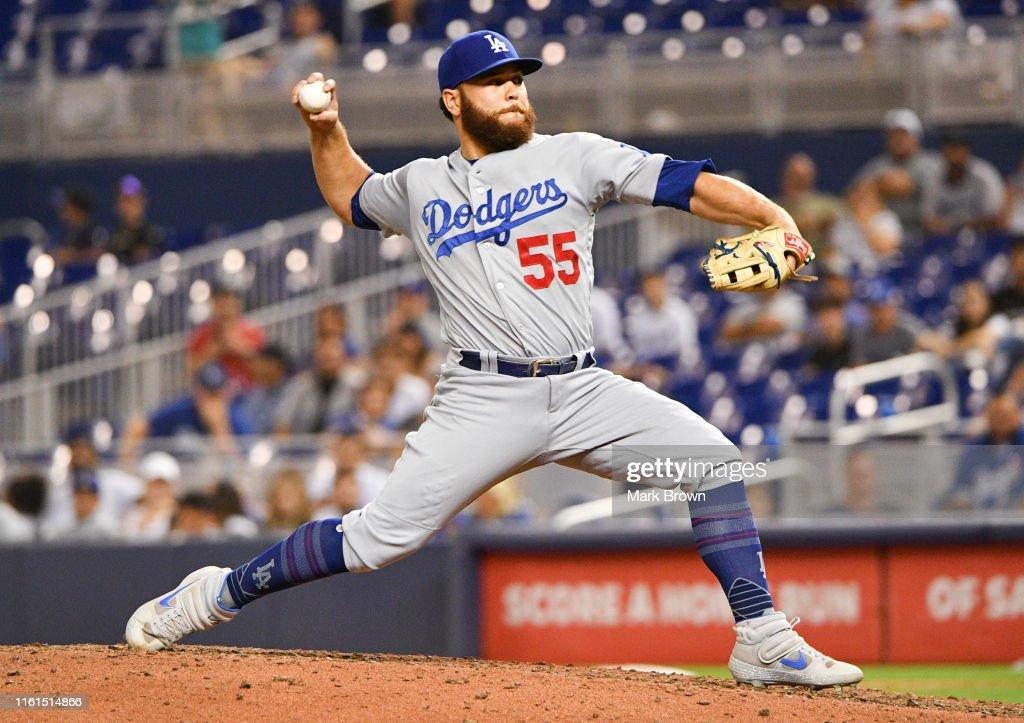 Los Angeles Dodgers v Miami Marlins : News Photo
