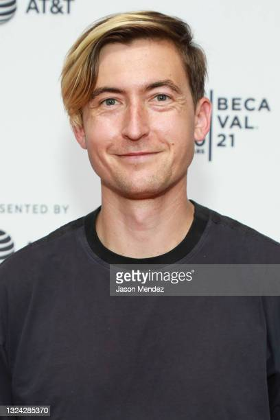 """Russell Sheaffer attends the """"Burros"""" premiere at the Shorts """"Don't Look Back"""" event during the Tribeca Festival 2021 at Brooklyn Commons at..."""