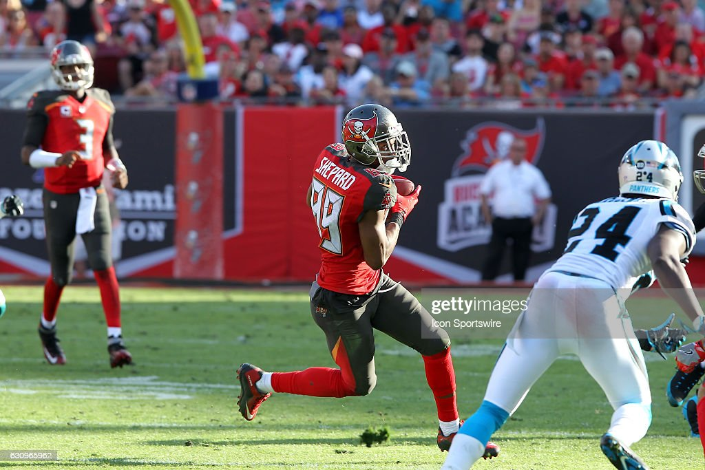 NFL: JAN 01 Panthers at Buccaneers : News Photo