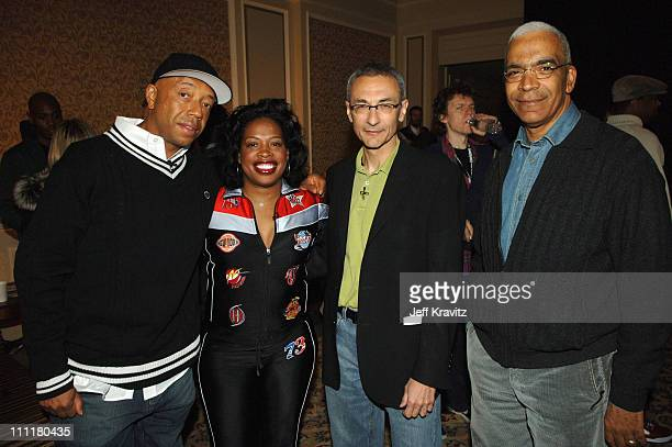 Russell Simmons Adele Givens John Podesta and Stan Lathan