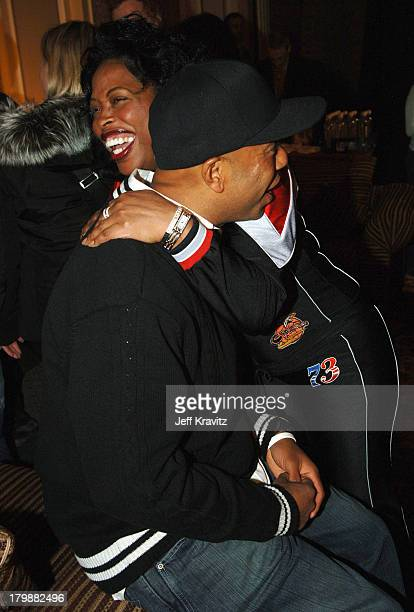Russell Simmons and Adele Givens during 2006 US Comedy Arts Festival Aspen USCAF Freedom of Speech Award Def Comedy Jam at St Regis Ballroom in Aspen...