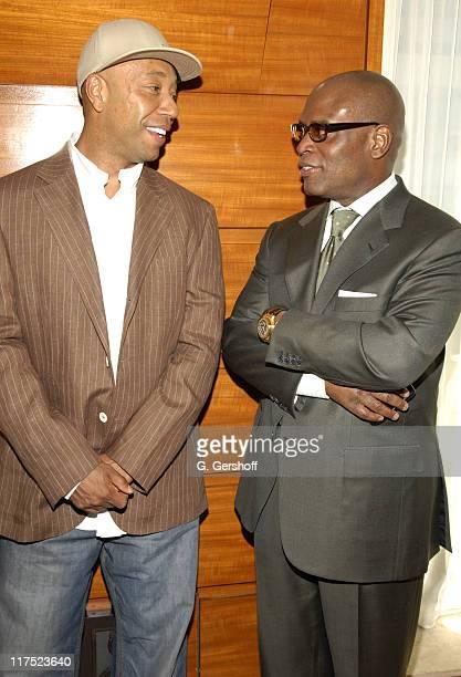Russell Simmons and Antonio LAReid ChairmanIsland Def Jam Music