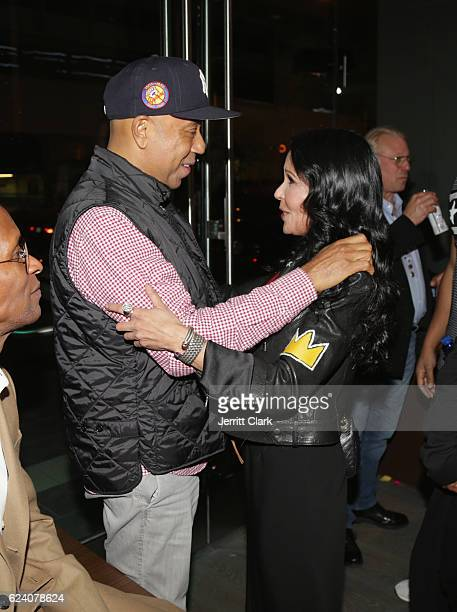 Russell Simmons and Apollonia Kotero attend the Tantris Grand Opening Event on November 17 2016 in Hollywood California
