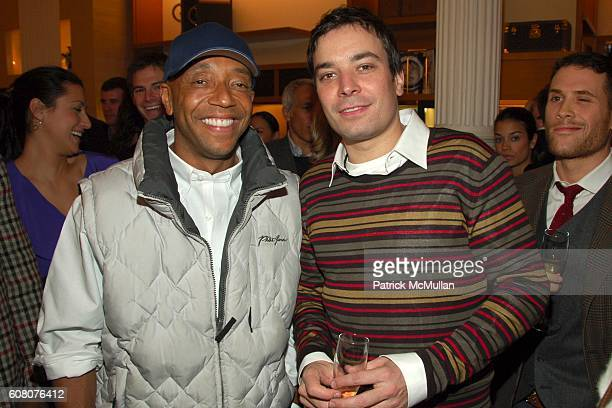 Russell Simmons and Jimmy Fallon attend LOUIS VUITTON and GQ Host New York Men of 2006 Honoring Jimmy Fallon Allan Houston and Geoffrey Zakarian at...