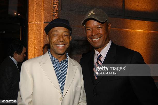Russell Simmons and Michael Roberts attend VANITY FAIR Tribeca Film Festival Party hosted by Graydon Carter and Robert DeNiro at The State Supreme...