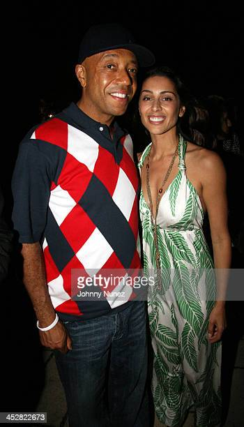 Russell Simmons and Shamin Abas during Russell Simmons' 2nd Annual Art for Life Benefit at Mar a Lago - Day 1 at Mar a Lago in Palm Beach, Florida,...