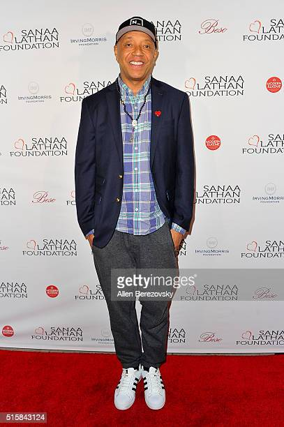 Russell Simmons attends a fundraising event supporting the Sanaa Lathan Foundation at Beso at Beso on March 15 2016 in Hollywood California