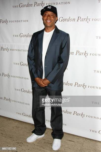 Russell Simmons attends Celebrating Fashion Gala Awards Dinner to Support The GORDON PARKS Foundation at Gotham Hall on June 2 2009 in New York City