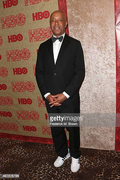 Russell Simmons attends HBO's Post 2014 Golden Globe Awards Party held at Circa 55 Restaurant on January 12 2014 in Los Angeles California