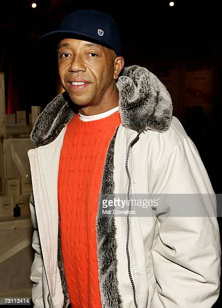 "Russell Simmons attends Kenneth Cole's ""R.S.V.P. To HELP"" benefit hosted by Kenneth Cole and Jon Bon Jovi at the Tribeca Rooftop on January 25, 2007..."