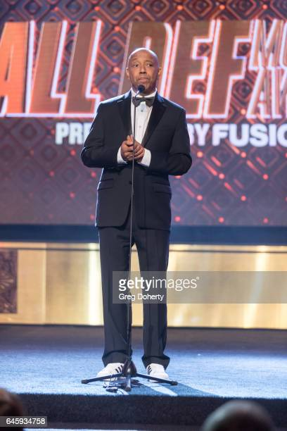Russell Simmons attends the 2nd Annual All Def Movie Awards at Belasco Theatre on February 22 2017 in Los Angeles California