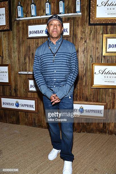 Russell Simmons attends the 5th Annual Bombay Sapphire Artisan Series Finale at Tent at Soho Beach House on December 4 2014 in Miami Florida
