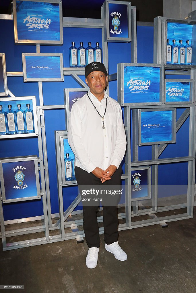 Russell Simmons attends the 7th Annual Bombay Sapphire Artisan Series Finale hosted by Russell and Danny Simmons at 11 11 Road on December 1, 2016 in Miami, Florida.