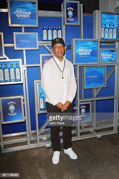 Russell Simmons attends the 7th Annual Bombay Sapphire Artisan Series Finale hosted by Russell and Danny Simmons at 11 11 Road on December 1 2016 in...