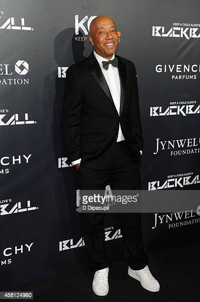 Russell Simmons attends the 9th annual Keep A Child Alive Black Ball at Hammerstein Ballroom on October 30 2014 in New York City