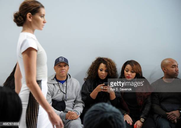 Russell Simmons attends the Designer's Collective fashion show during MercedesBenz Fashion Week Fall 2014 at Helen Mills Event Space on February 9...