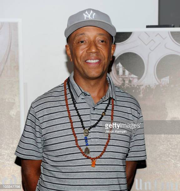 Russell Simmons attends the premiere of  A Film Unfinished  at MOMA Celeste  Bartos Theater 083cc784cdb