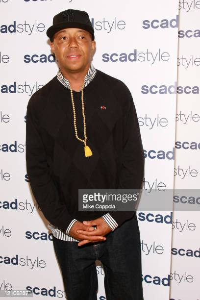 Russell Simmons attends the Savannah College of Art and Design's annual Style Etoile Awards Gala at James Cohan Gallery on March 23, 2009 in New York...