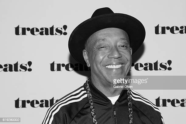 Russell Simmons attends Trick or treats The 6th Annual treats Magazine Halloween Party Sponsored by Absolut Elyx on October 29 2016 in Los Angeles...
