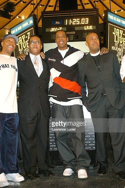 Russell Simmons Dr Benjamin Chavis JayZ Rev Joseph Run Simmons Memphis Bleek