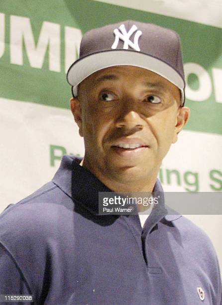Russell Simmons during 2006 Hip Hop Summit Sponsored By Chrysler Financial at Wayne State University's Bonstelle Theatre in Detroit Michigan United...