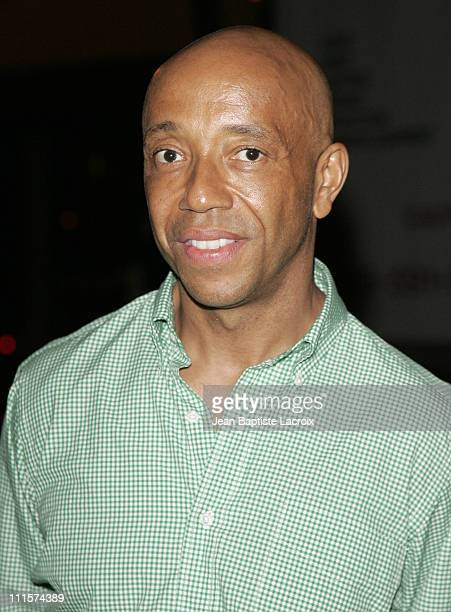 Russell Simmons during Art Basel Miami Beach 2006 Sightings on South Beach at South Beach in Miami Beach Florida United States
