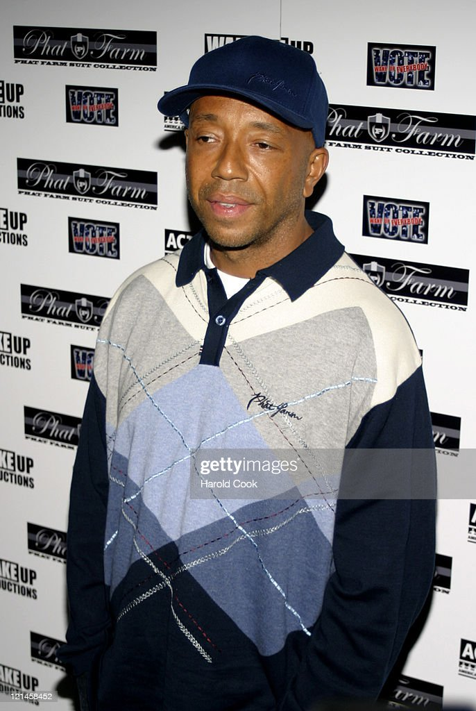 Russell Simmons during Babyface and Russell Simmons Host 'Wake Up Everybody' Release Party at Bryant Park Hotel Cellar Bar in New York City, New York, United States.