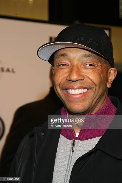 """Russell Simmons during The World Premiere of the """"Inside Man"""" at Ziegfeld Theatre in New York, New York, United States."""
