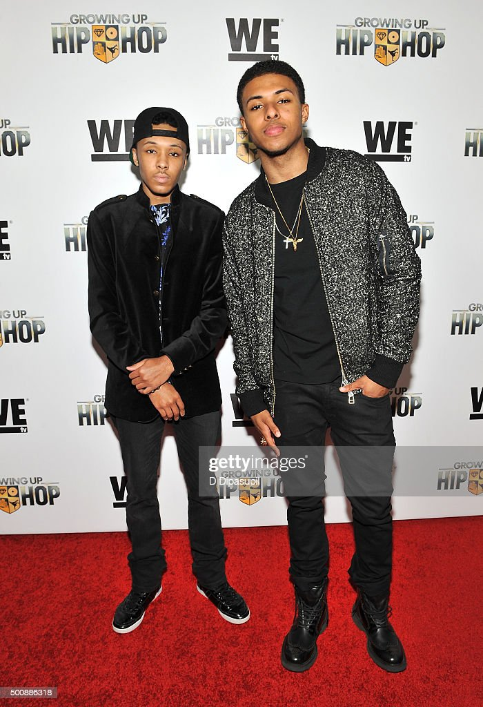 Russell Simmons Ii >> Russell Simmons Ii And Diggy Simmons Attends As We Tv Celebrates The