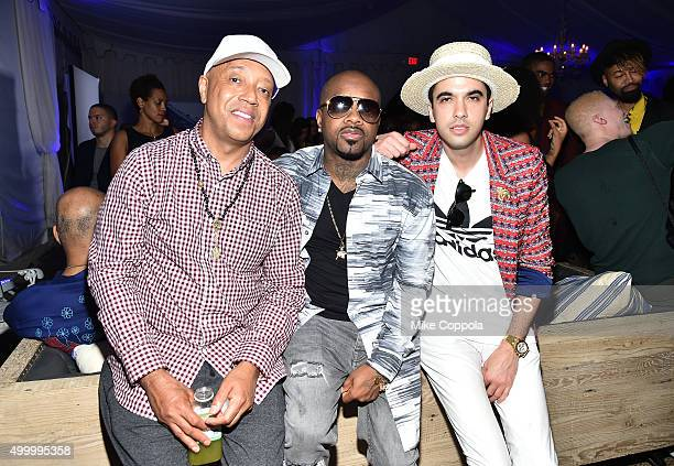 Russell Simmons Jermaine Dupri and DJ Cassidy attend The 6th Annual Bombay Sapphire Artisan Series Grand Finale Cohosted By Russell Simmons And...