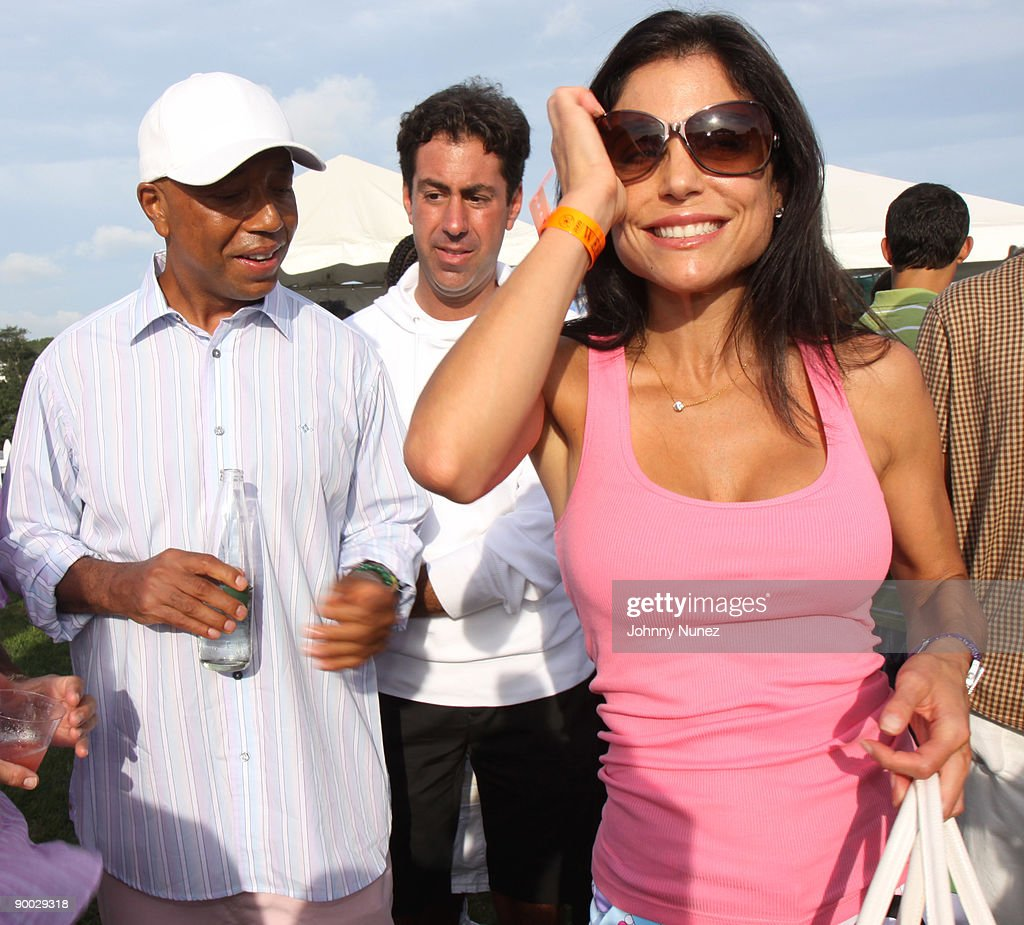 Russell Simmons, Scott Rauch and Bethenny Frankel attend the closing day of the Mercedes-Benz Polo Challenge at Blue Star Jets Field at Two Trees Farm on August 22, 2009 in Bridgehampton, New York.