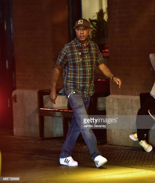 Russell Simmons seen on the streets of Manhattan on September 16 2015 in New York City