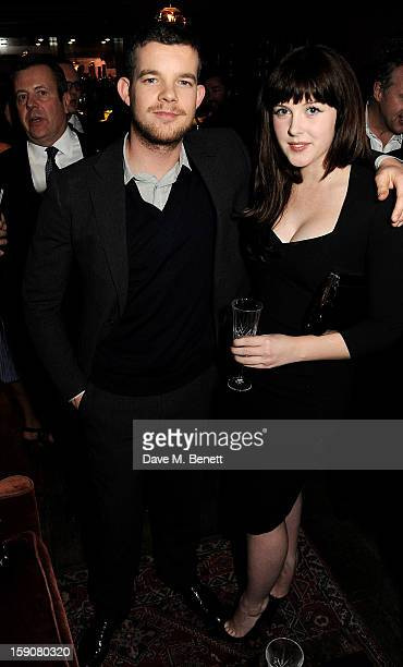 Russell Tovey and Alexandra Roach attend the Esquire and Tommy Hilfiger party celebrating London Collections MEN AW13 hosted by Esquire editor Alex...