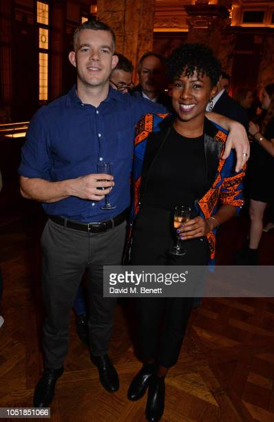 "Russell Tovey and Jade Anouka attend an after party for ""Happy Birthday, Harold"", a charity gala celebrating the life and work of Harold Pinter and..."