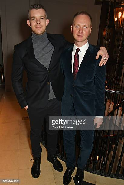 Russell Tovey and Simon Oldfield Pin Drop CoFounder attend the live reading event hosted by Burberry with Pin Drop at Thomas's Burberry's allday...