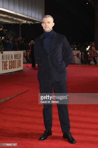 Russell Tovey attends the World Premiere of The Good Liar at the BFI Southbank on October 28 2019 in London England