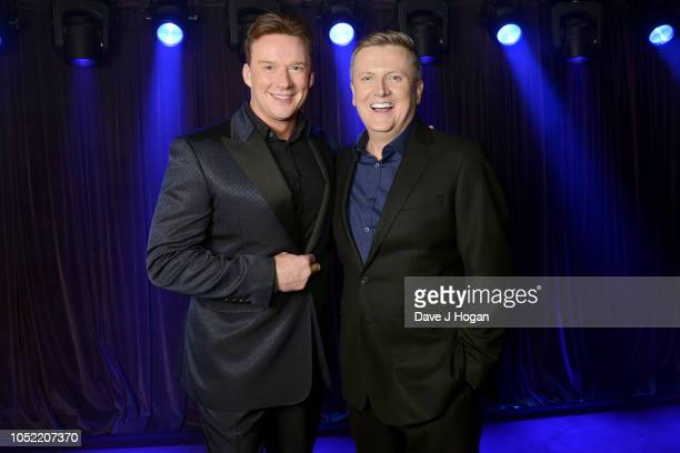 Russell Watson and Aled Jones attend the 'In Harmony' album launch at The Arts Club on October 15 2018 in London England