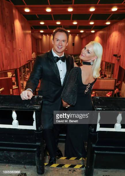 Russell Watson and Friederike Krum record a charity EP in support of the Chelsea Pensioners at Angel Studios on July 26 2018 in London United Kingdom