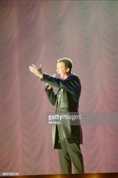 Russell Watson appearing at Showtime at The Millennium Stadium Cardiff Wales United Kingdom Concert featuring many of the pop stars of 2001 Picture...